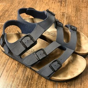 Birkenstock Birkis size Ladies 6 Men's 4